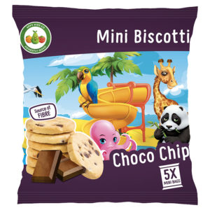 Appy Kids Co Choco Chip Mini Biscotti  5x20g Pack